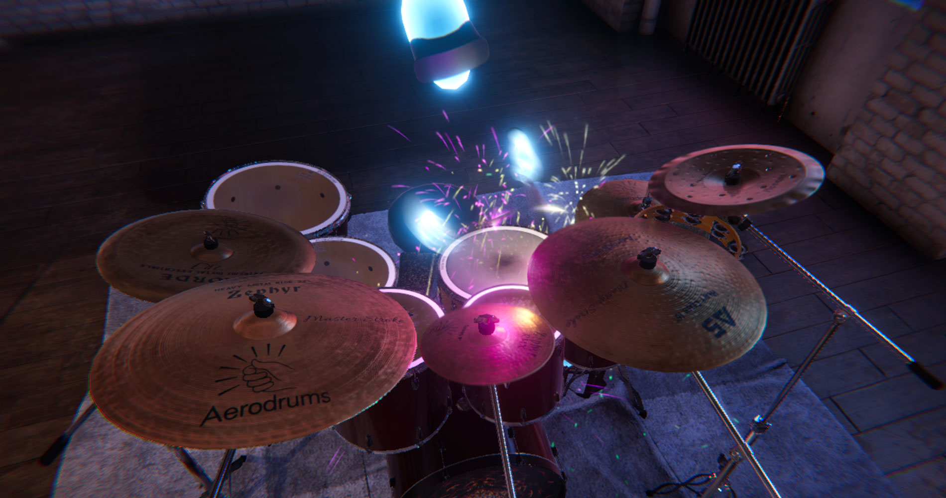 3D Update - Aerodrums