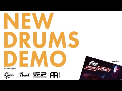 Aerodrums New Drum Samples - Gretsch, Meinl, and Others