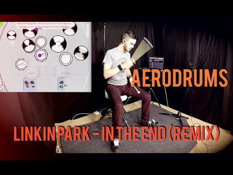 In The end - Linkin Park - Cover ft Aerodrums