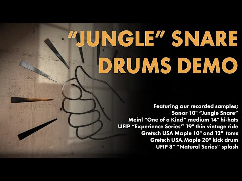 """Aerodrums Sound Samples - Featuring the """"Jungle"""" Snare"""