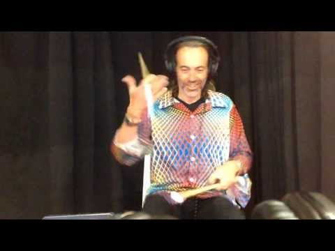 Drummers Trying Aerodrums for the first time at NAMM 2014