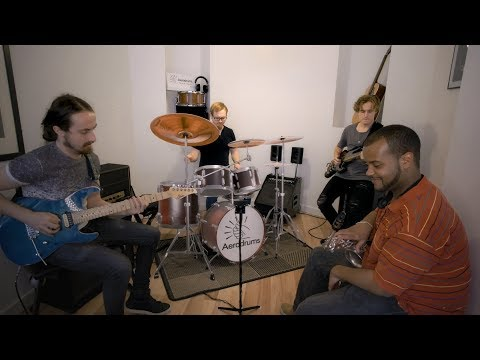 Band Practice with Aerodrums
