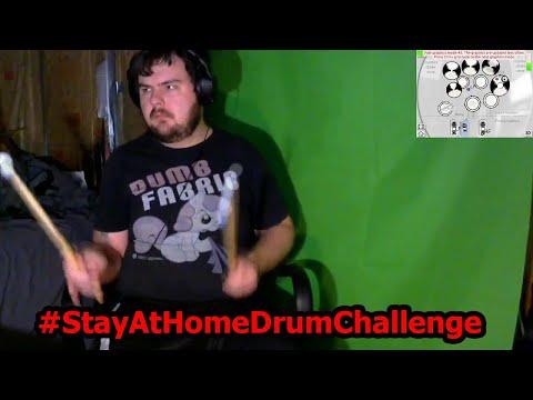 Drumstick Pony Aerodrums #StuckAtHomeDrumChallenge