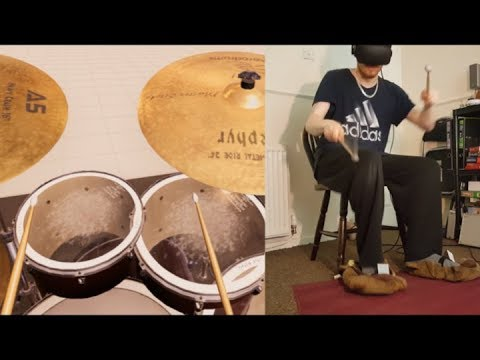 AeroDrums VR - Virtually real drums in Oculus Rift