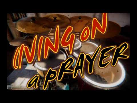 Living On A Prayer Cover AERO DRUMS 3D