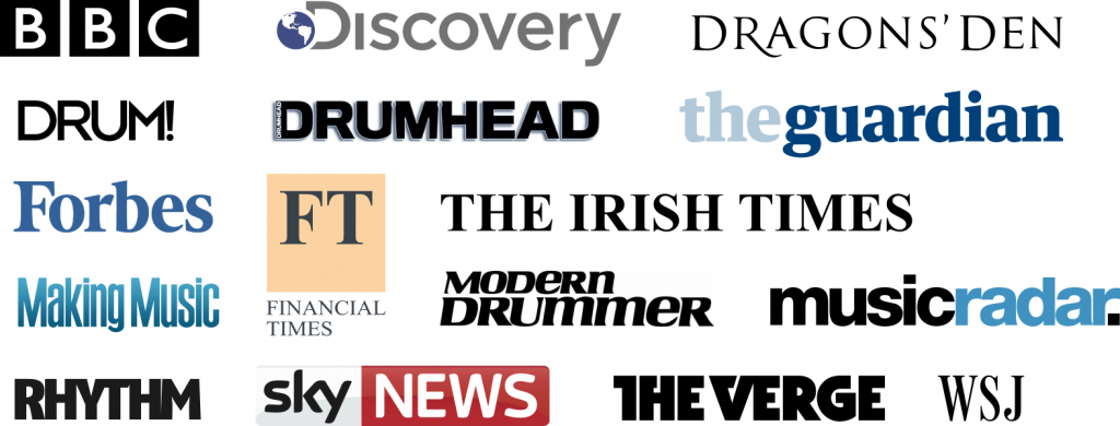 Publishers that covered Aerodrums - English